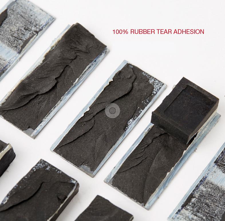 Rubber Tear Adhesion