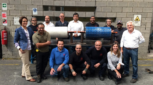 Rivera, approved applicator for Elastotec pulley lagging in Chile Blog List Image