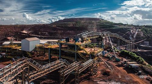 Vale's Vargem Grande Iron Ore Conveyor Lagging Problem