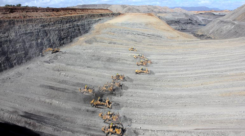 Curragh coal mine – improved service life of conveyor pulleys