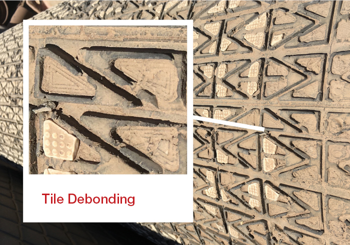 Tile Debonding 2