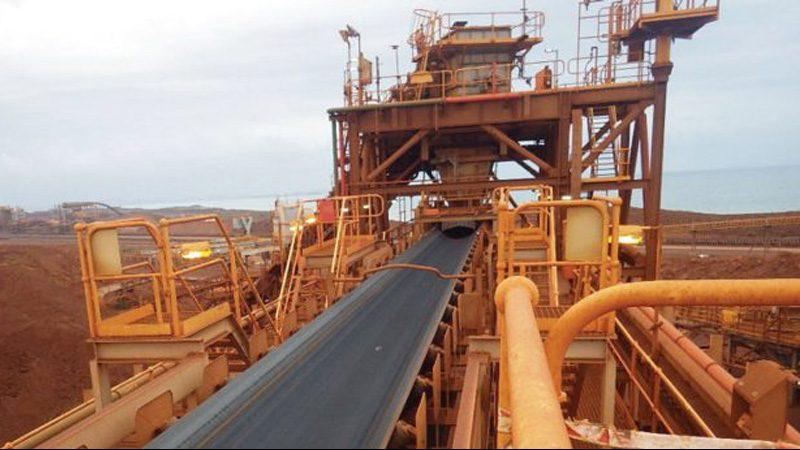 Iron Ore Port Facility High Tension Bend Pulley – Elastotec Polyurethane Lagging