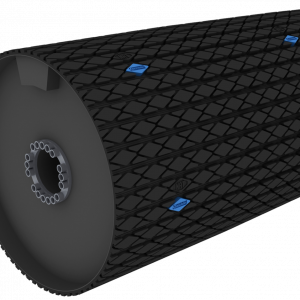 Crowned Diamond Rubber Lagging Product Image
